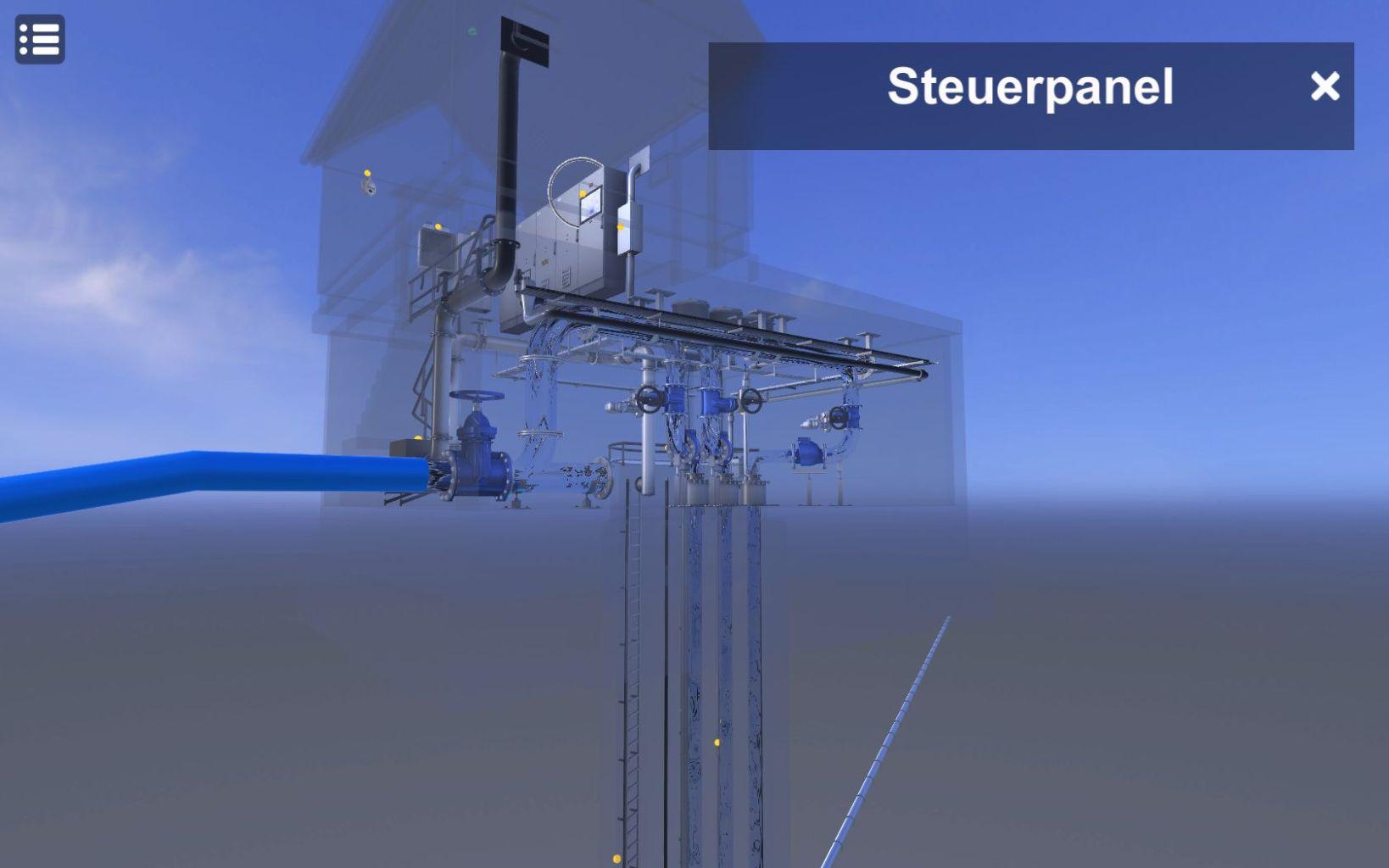 3D Steuerpanel